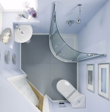Ремонт и дизайн маленькой ванной комнаты: лучшие фото-идеи